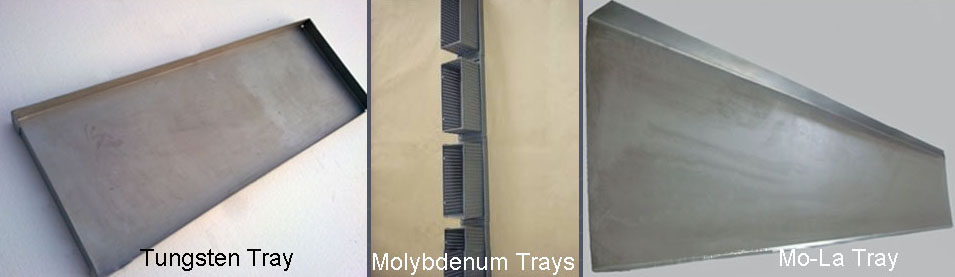 Tungsten Tray; Molybdenum Tray