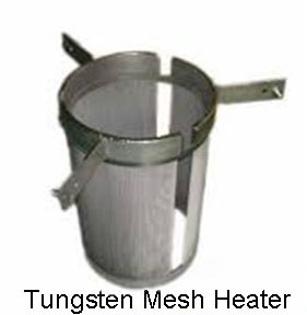 tungsten mesh heater